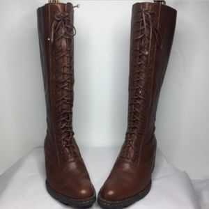 Born Wickham Leather Knee High Boots | Size 7.5